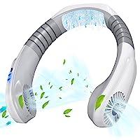 ネッククーラー 首かけ扇風機 【瞬間冷却&18時間連続使用】 携帯扇風機 usb充電式 扇風機 小型 ネックファン ハン…