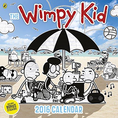Diary of a Wimpy Kid Calendar 2016