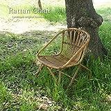 KAGLAB ラタンチェア パーソナルチェア 籐家具 アジアン リゾート アンティーク 籐椅子 アジアン家具 C155MME