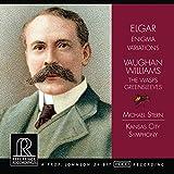 エルガー : エニグマ変奏曲 op.36 他 (Elger : Enigma Variations | Vaughan Williams : The Wasps , Greensleeves / Michael Stern , Kansas City Symphony) [輸入盤]