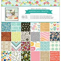"American Crafts Best Of Paper Pad 12""X12"" 180/Pkg"