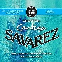 SAVAREZ サバレス クラシックギター弦 クリエーションカンティーガ ハイテンションセット 510MJ
