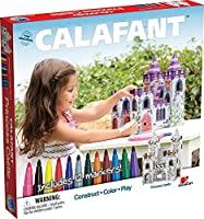 CALAFANT - Princess Castle with 12 Markers [並行輸入品]