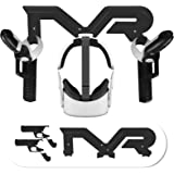 Esimen VR Headset Wall Mount Storage Stand Hook for Oculus Quest 2 Grip Game Gun Pistol Case (Black)