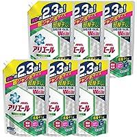【ケース販売】 アリエール 洗濯洗剤 液体 リビングドライイオンパワージェル 詰め替え 超ジャンボ1.62kg×6個