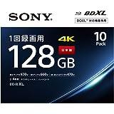 ソニーSONY ビデオ用ブルーレイディスク (10枚パック)10BNR4VAPS4 J (BE-R 4層 4倍速 128GB)