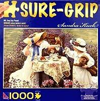 アートof Sandra Kuck Gardenパーティー1000ピースsure-gripパズルby sure-lox