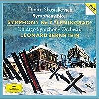 Shostakovich: Symphonies No.1 & No.7 by Leonard Bernstein (2015-10-14)