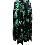 LAUREN RALPH LAUREN Womens Oretha Printed Daytime Midi Skirt