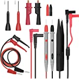 Electrical Multimeter Test Leads Set with Alligator Clips Test Hook Test Probes Lead Professional Kit 1000V 10A CAT.II