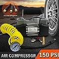 2 CYLINDER 4x4 12V PORTABLE AIR COMPRESSOR 150PSI
