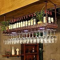 YD-Wine rack 鍛鉄ブロンズ/ブラッククリエイティブワインラックホームワインラック用3サイズあり # (色 : ブロンズ, サイズ さいず : 120 * 35 * 12cm)