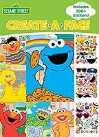Bendon 43372 Create-a-Face Sticker Book Sesame Street [並行輸入品]