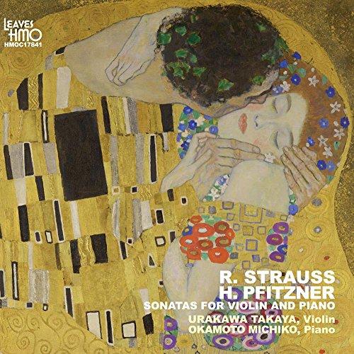 R.STRAUSS / H.PFITZNER SONATAS FOR VIOLIN AND PIANO