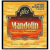 GHS Strings PF250 Bright Bronze Mandolin Strings Medium Light (.011-.038) [並行輸入品]