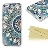 iPod 6ケース、iPod touch第6世代ケース–Mavis 's Diary 3dハンドメイドキラキラ光るクリスタル光沢ラインストーンダイヤモンド特別なパターンクリアケースハードPCカバー 16Y9TZ153S