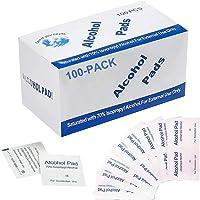 Pichidr-JP 消毒用アルコール綿 200枚 個包装 5x5cm 除菌アルコールシート 医療用70%