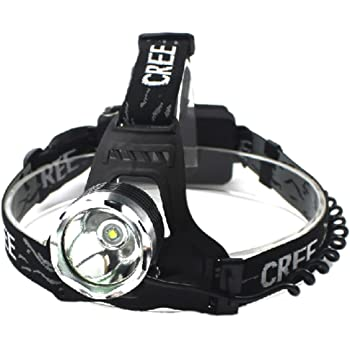 GOODGOODS LED 充電式 ヘッドライト 1800LM ヘッドランプ CREE XM-L T6 3モード機能付き【一年保証】 HL80