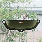 K&H WINDOW BED KITTY SILL OLIVE GREEN/KHBD6297OL/ウィンドウベッド/ネジ…