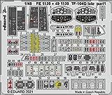 エデュアルド 1/48 TF-104G 後期型 エッチングパーツ (キネティック用) プラモデル用パーツ EDU491139
