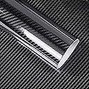 IlMondoMall 3D ハイグロス カーボン調 カーボンステッカー 艶あり (152×100cm, 黒)