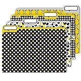 "Eureka Peanuts Snoopy File Folders for School, 4pc, 11.5"" W x 9"" L"