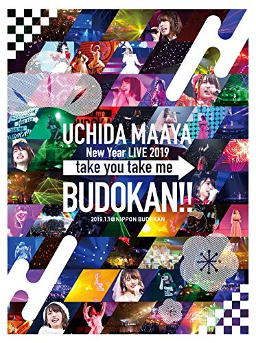 【Amazon.co.jp限定】UCHIDA MAAYA New Year LIVE 2019「take you take me BUDOKAN!!」[Blu-ray](ロゴ入りトートバッグ付き)