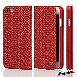 Best iphone 6プラス6インチPhoneのSpigenケース - Fierre shann 本革 ビンテージレザー ケース 手帳型 for iPhone Review