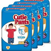 Cuties Training Pants, Boy, 104 Count (Pack of 4) by Cuties