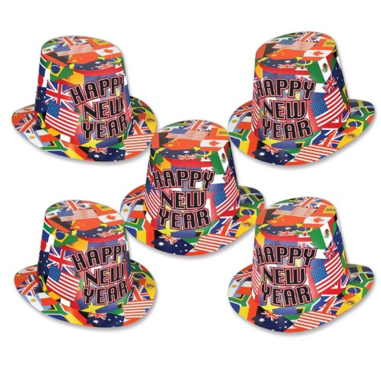 Beistle 88577 – 25 International hi-hatパーティーFavors、25帽子per package