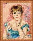 ジャンヌ・サマリーの肖像(クロスステッチキット)