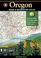 Benchmark Oregon Road & Recreation Atlas: Pacific Wonderland