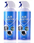 Air Duster Compressed Cleaner Spray Laptop PC Keyboard Camera Lens 2/4 Pack (2 Pack)