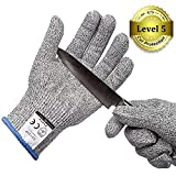 軍手 防刃 防刃手袋 作業用 手袋 作業グローブ 切れない手袋 耐切創手袋 (M(防刃5級))