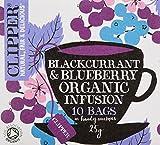 クリッパー オーガニックフルーツインフュージョン ブラックカラント&ブルーベリー(個装10P)