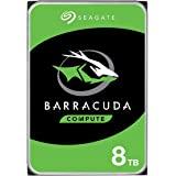 "Seagate ST8000DM004 Barracuda Compute 3.5"" Internal Hard Drive, 8TB, 5400 RPM"