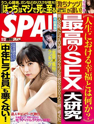 週刊SPA!(スパ) 2018年 11/13 号 [雑誌] 週刊SPA! (デジタル雑誌)
