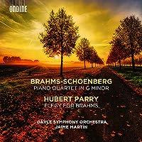 Piano Quartet in G Minor / Elegy for Brahms