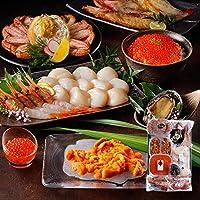 島の人 北海道 豪華 蟹付き 海鮮 7点 セット [極(きわみ)] お中元 ギフト 内祝い 贈答