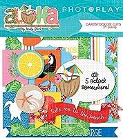 Aloha Cardstock Die-Cuts 34/Pkg-