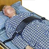 (なないろ館)ベッド 安全帯 保護ベルト 抑制帯 介護 自傷行為防止 医療 点滴外し時 おむつ替え時 車椅子にも 革