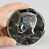 3 Inches Jumbo Silver Half Dollar /3インチジャンボシルバーハーフドル -- /コイン&マネーマジック