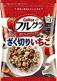 カルビー フルグラ ざく切りいちご 200g×10袋
