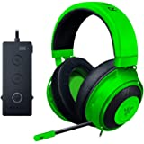 Razer Kraken Tournament Edition Gaming Headset - [Green]: Aluminum Frame - Retractable Noise Cancelling Mic - THX 7.1 Surroun