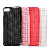 DIY 十字の刺繍クロスステッチ 柔らかい 携帯用の保護カバー iphone7 適用する (iPhone7, ?い)