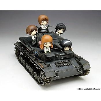 プラッツ ガールズ&パンツァー IV号戦車D型 あんこうチーム プチあんこうチーム付き 1/35スケール プラモデル