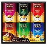 コロンビア 今年のお歳暮特集 キーコーヒー ドリップオン KDV−30N(ドリップオン(スペシャルブレンド、モカブレンド、キリマンジェロブレンド、コロンビアブレンド、トアルコトラジャ、トラジャブレンド)8g×5p×各1)
