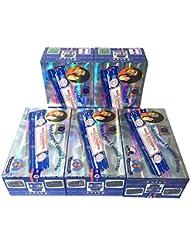サイババ ナグチャンパ香スティック 5BOX(30箱)/SATYA SAI BABA NAG CHAMPA/インド香 / 送料無料 [並行輸入品]