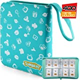 tombert TCG Binder Compatible with Animal Crossing Amiibo Cards, NFC Tag Game Cards, Pokemon Trading Cards, 400 Cards Capacit