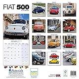 Fiat 500 Calendar 2019 画像